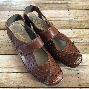 Rieker Perforated Design Shoe